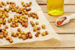 Geröstete Kichererbsen gesund zuckerfrei Clean Eating