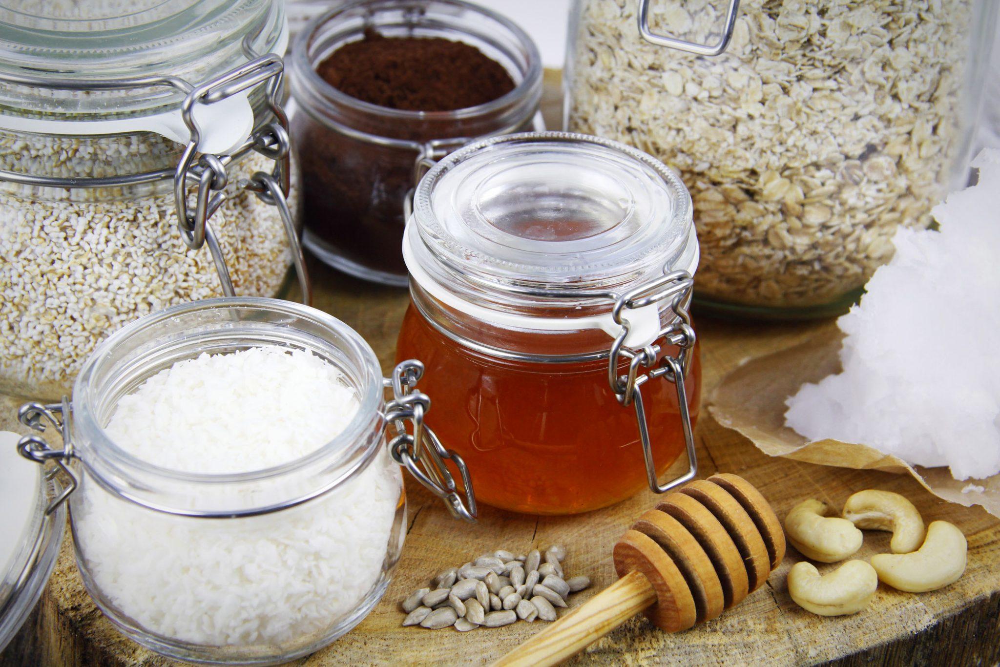 Gesundes Granola Knuspermüsli ohne Zucker