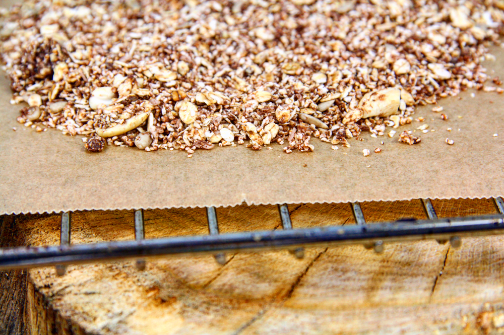 Gesunde Granola Kunspermüsli ohne Zucker