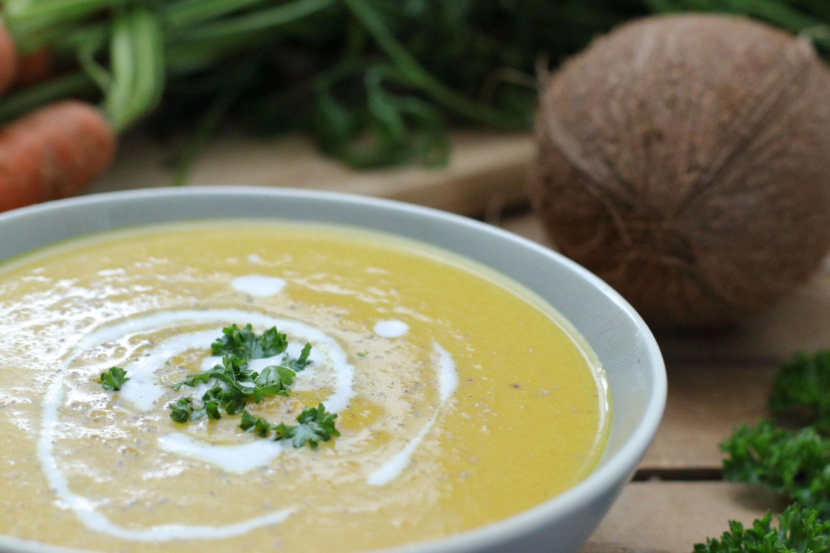Karotten Kokos Suppe Foodrevers