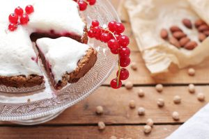 Baiser Aquafaba Kuchen zuckerfrei vegan Clean Eating Foodrevers