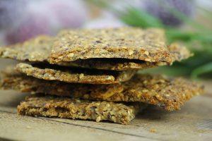 Knäckebrot gesund Clean Eating zuckerfrei Foodrevers
