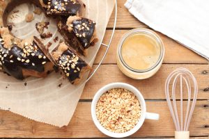 Marmor Nusskuchen zuckerfrei gesund Clean Eating Foodrevers