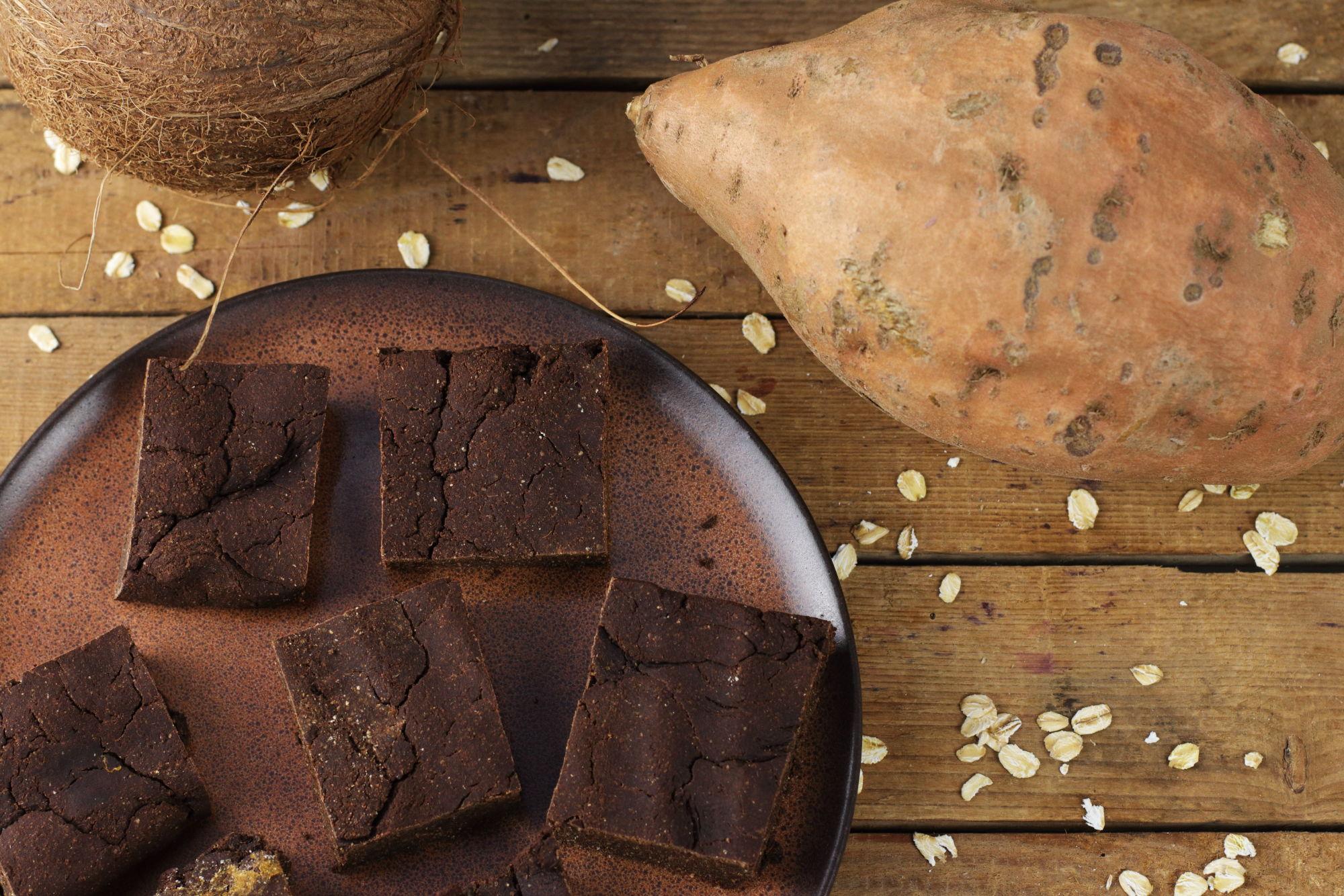 Süßkartoffel Brownies Foodrevers