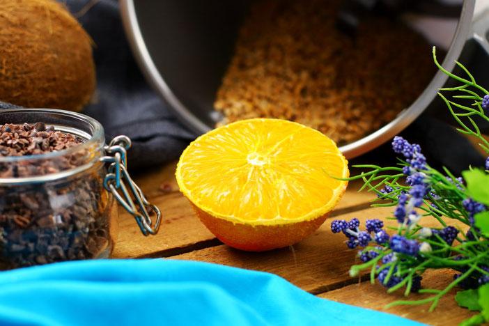 Clean Eating Schoko Orangen Cookies