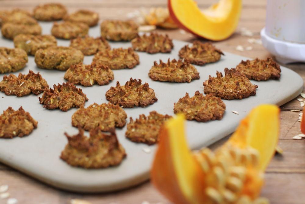 Kürbiskekse mit Kekspresse Pampered Chef Foodrevers
