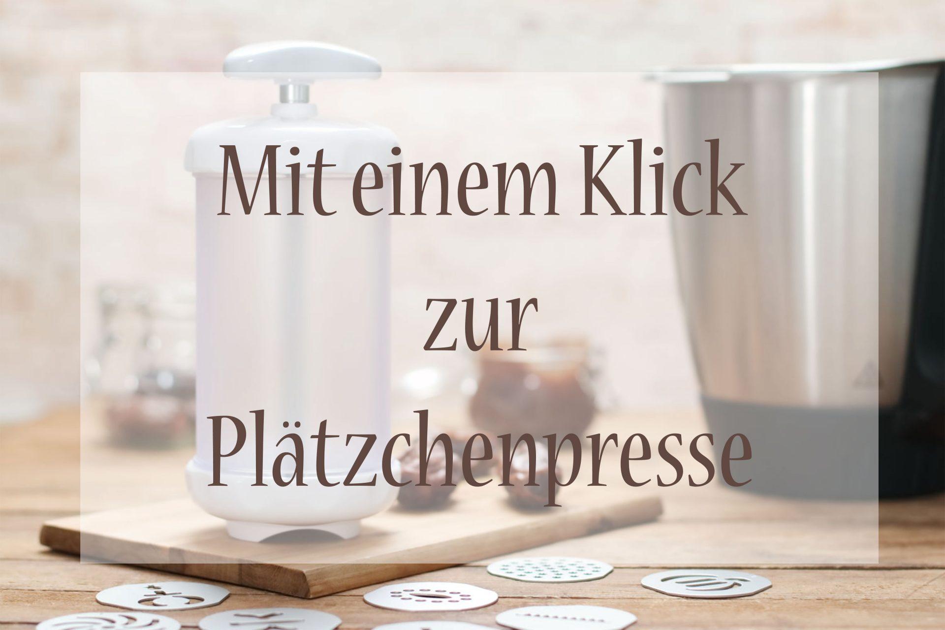 Plätzchenpresse Pampered Chef Foodrevers Clean Eating
