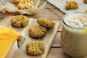 Gesunder Pumpkin Latte zuckerfrei Clean Eating Foodrevers