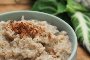 Low Carb Blumenkohl Milchreis zuckerfrei gesund Clean Eating Thermomix