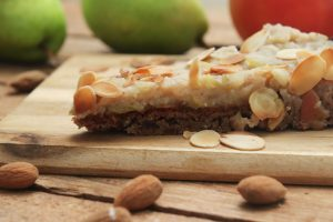zuckerfreie Apfelkuchen mit Birne gesund Clean Eating Foodrevers Thermomix