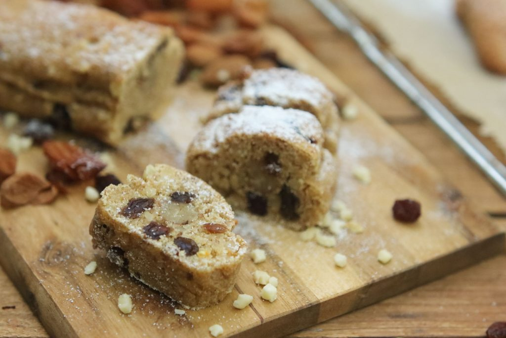 Gesundes Stollenkonfekt Mini Stollen zuckerfrei Clean Eating Foodrevers Thermomix