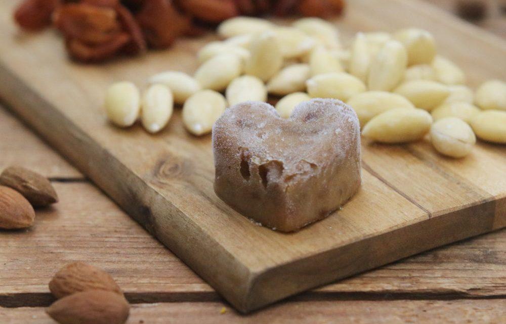 Dattelmus als Dattelherz zuckerfrei Clean Eating Foodrevers