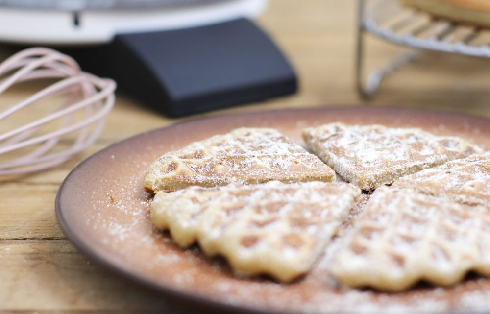 Gesunde Waffeln zuckerfrei Clean Eating Thermomix