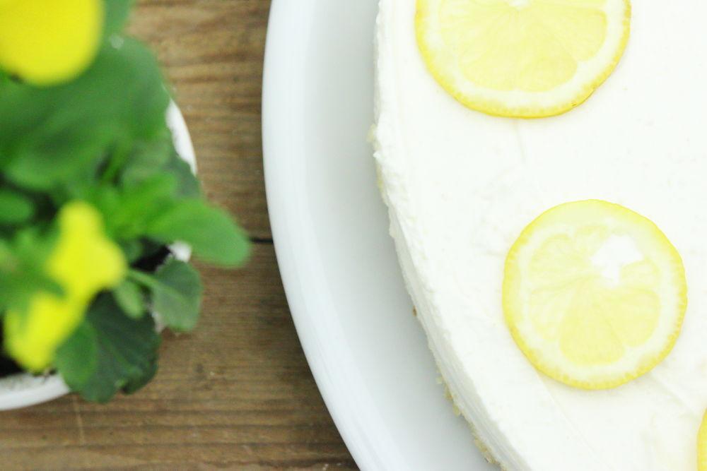 Philadelphia Torte Foodrevers gesund backen zuckerfrei