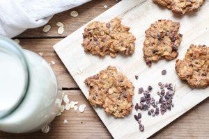 Porridge Cookies - vegan und zuckerfrei mit Clean Eating backen