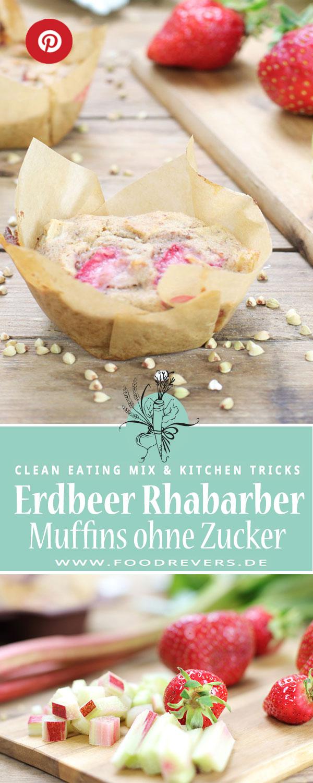 Foodrevers Pinterest-Erdbeer-Rhabarber-MuffinsPIN