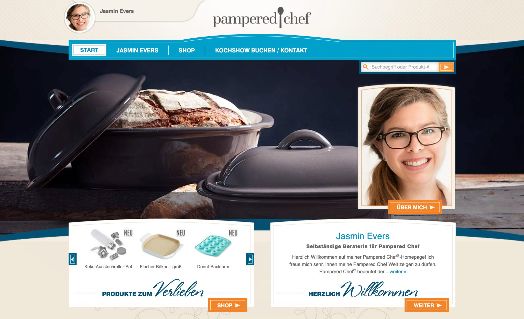 Online Shop Food revers Pampered Chef