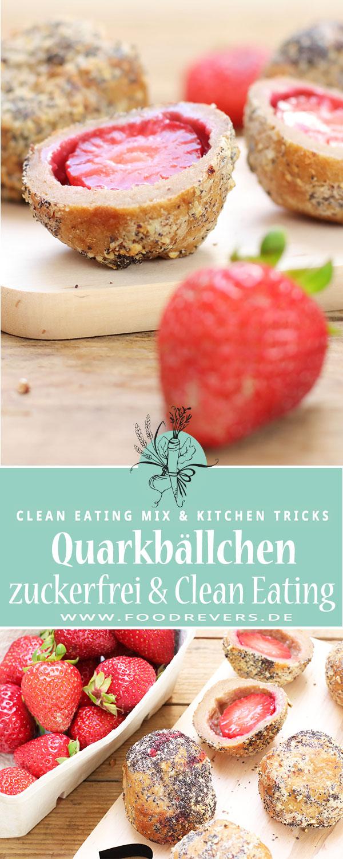 Pinterest-Erdbeer-Quarkbällchen Foodrevers