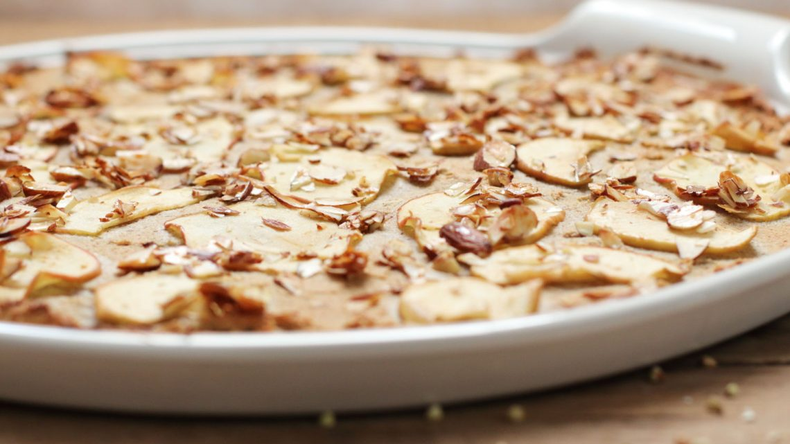 Gesunde Applepie Pizza Clean Eating Foodrevers Pampered Chef