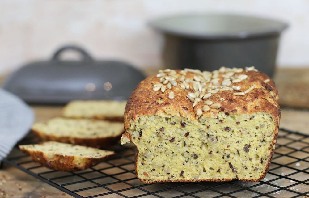 LowCarb Brot glutenfrei mit Pampered Chef und Thermomix Foodrevers Clean Eating