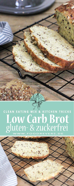 Pinterest-Low-Carb-Brot Foodrevers Clean Eating