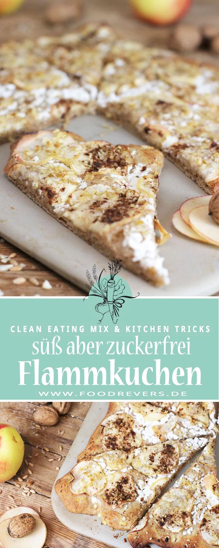 Pinterest süßer Flammkuchen Zauberstein Pampered Chef Foodrevers Clean Eating