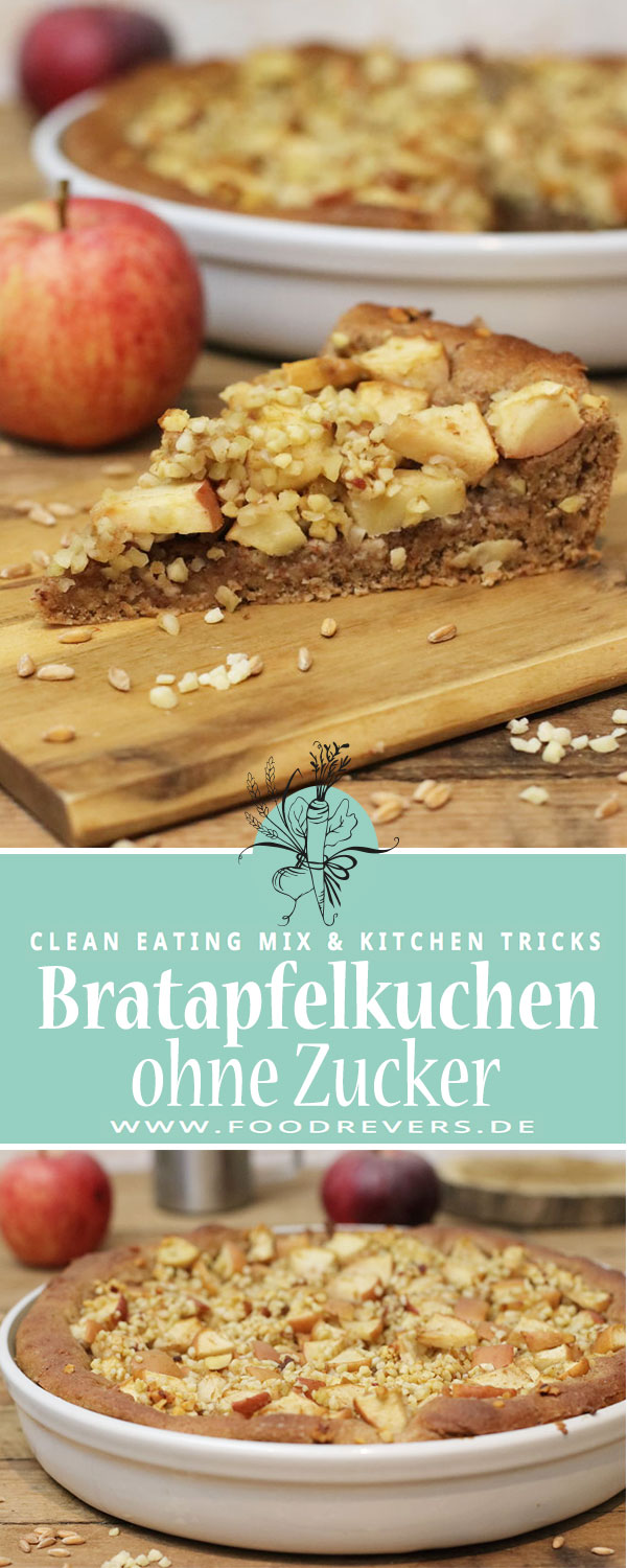 Pinterest Bratapfelkuchen ohne Zucker Foodrevers Clean Eating Pampered Chef Thermomix