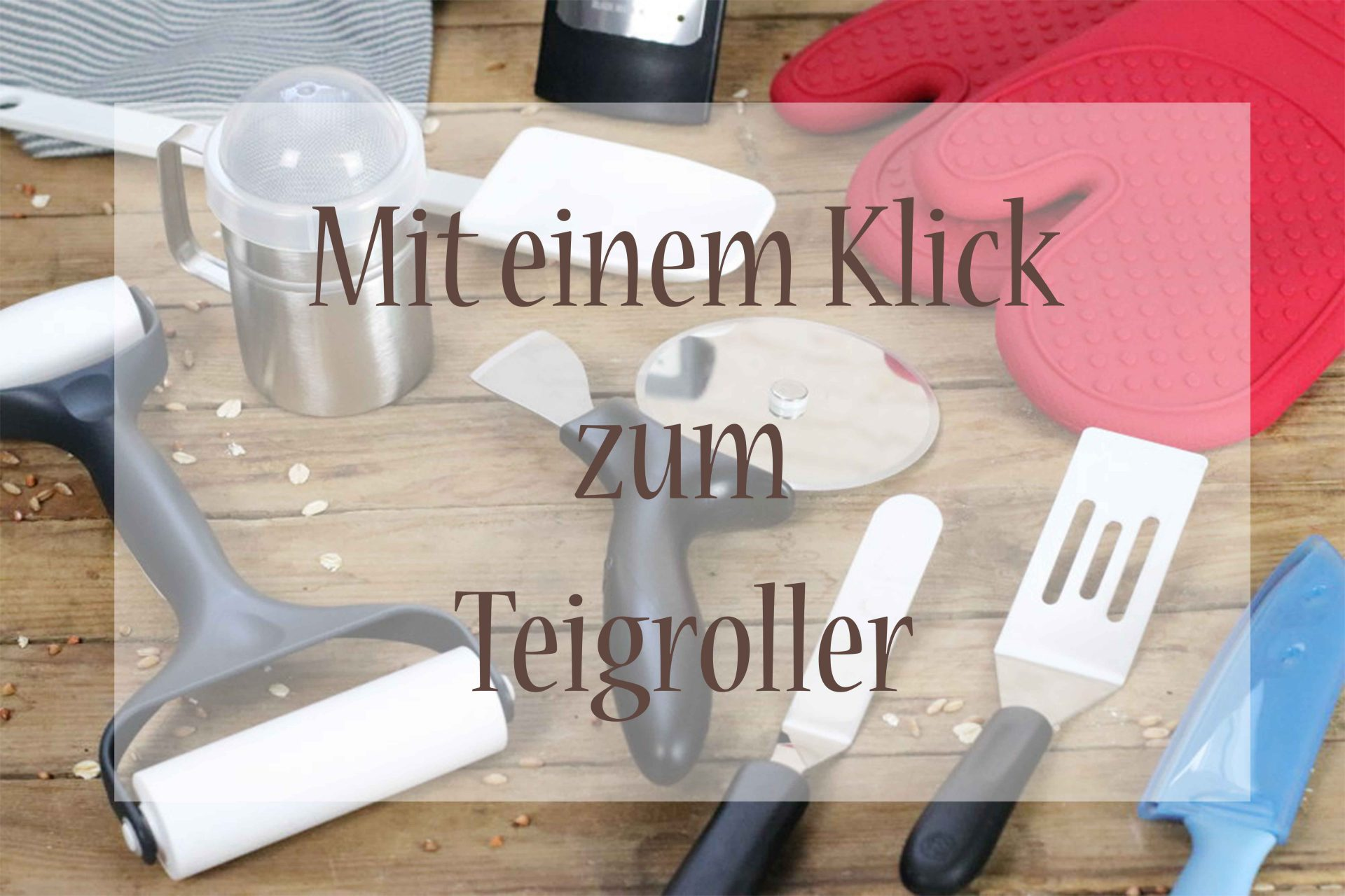 Teigroller kaufen Pampered Chef Foodrevers Clean Eating