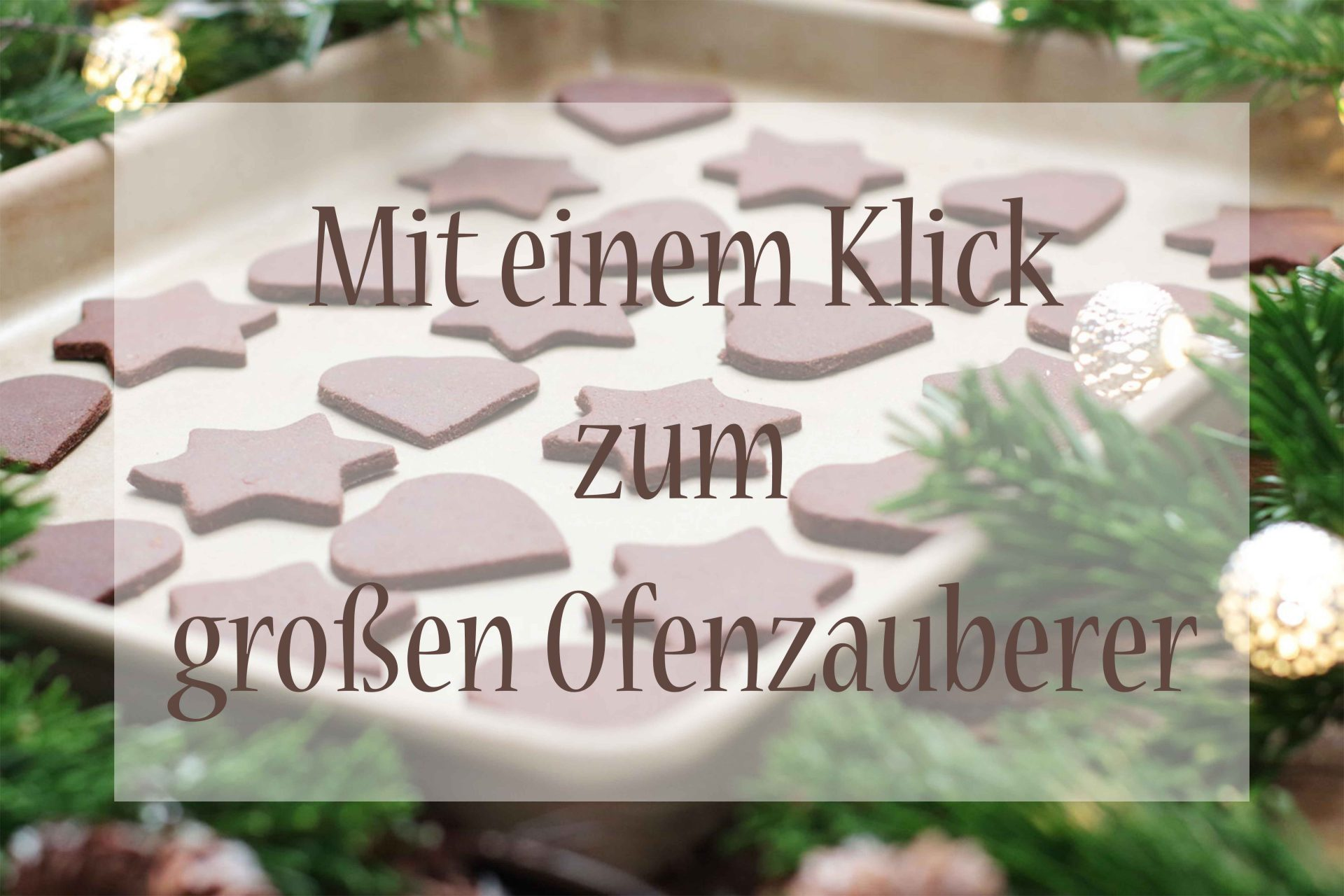 Großer Ofenzauberer James Online Shop Foodrevers Kekse backen