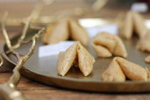 Gesunde Glückskekse zuckerfrei gesund Clean Eating Vollkorn Thermomix Foodrevers