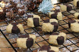 Schwarz-Weiß-Gebäck zuckerfrei gesund Clean Eating Foodrevers glutunfrei Pampered Chef
