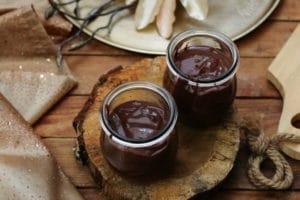 Gesunder Schokoladenpudding zuckerfrei Clean Eating Foodrevers Thermomix TM6