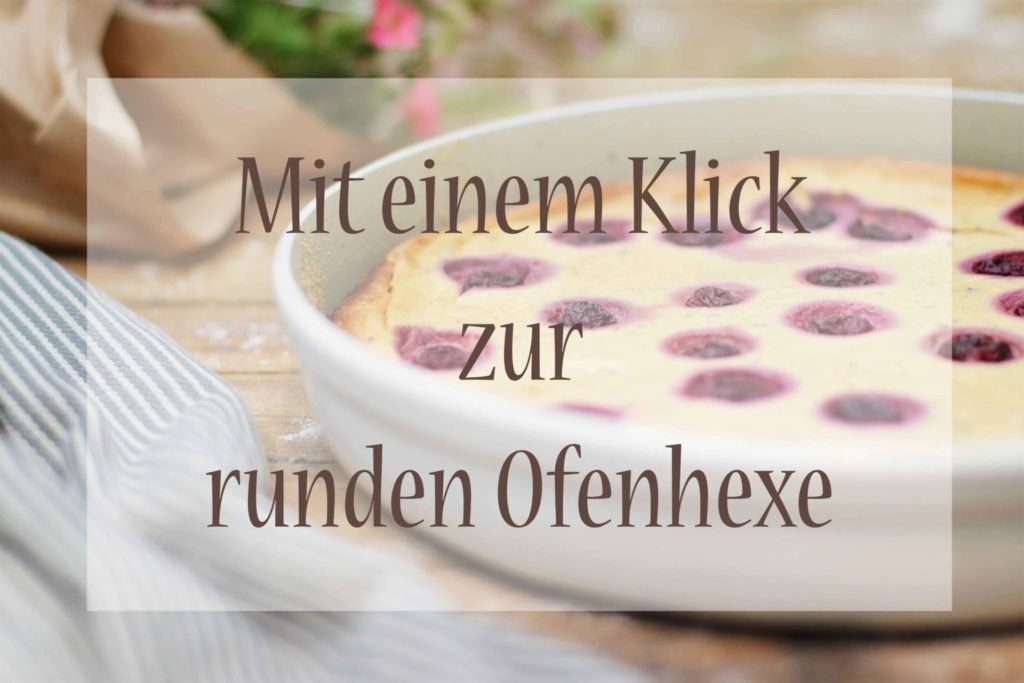 Runde Ofenhexe zuckerfrei Käsekuchen Thermomix Pampered Chef Foodrevers