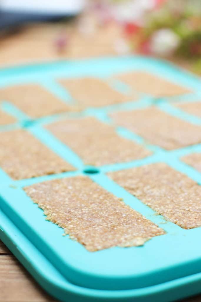 Erdnuss Powerriegel zuckerfrei gesund Clean Eating Pampered Chef Thermomix