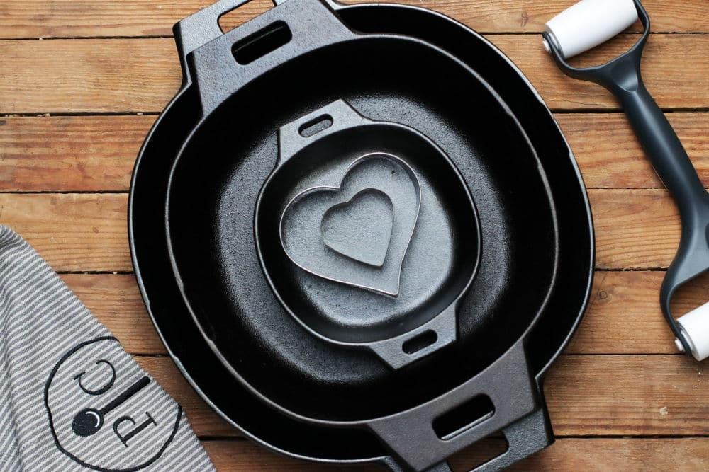 Gusseiserne Bratpfanne Pampered Chef kaufen Rezepte Foodrevers