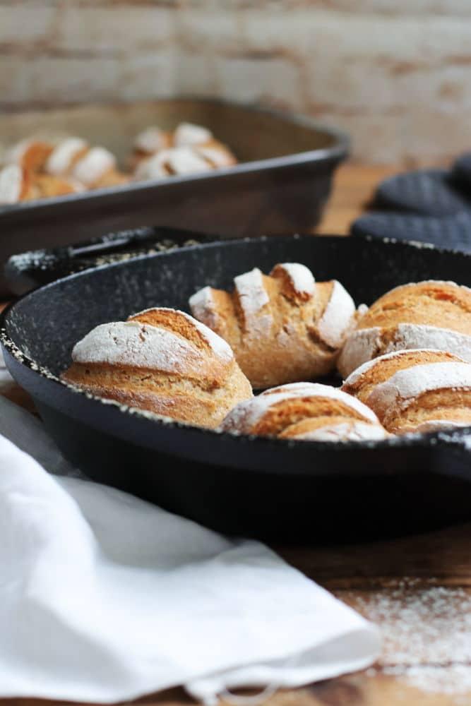 Vergleich Gusseisen und Stoneware Pampered Chef Foodrevers Clean Eating