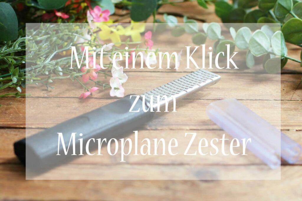 Microplane Zester Pampered Chef kaufen Foodrevers Online Shop