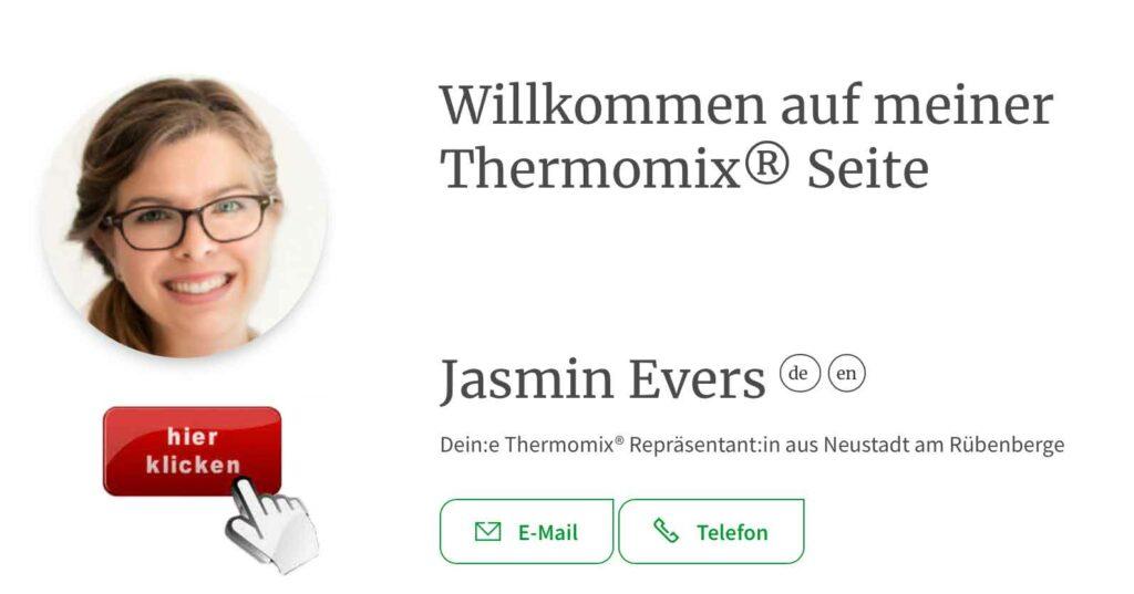 Thermomix Repräsentantin Jasmin Evers 31535 Neustadt