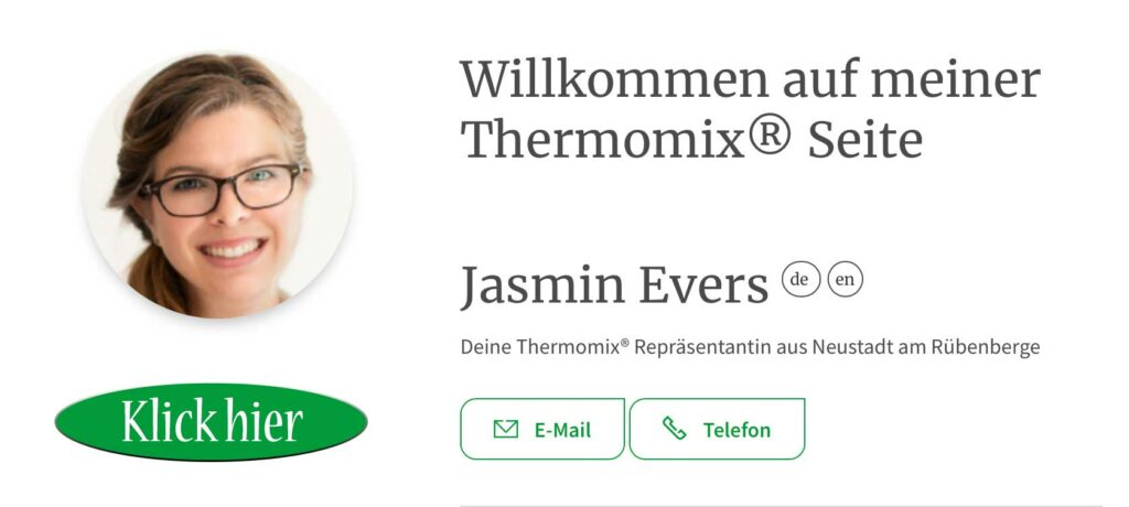 Jasmin Evers Thermomix Beratung